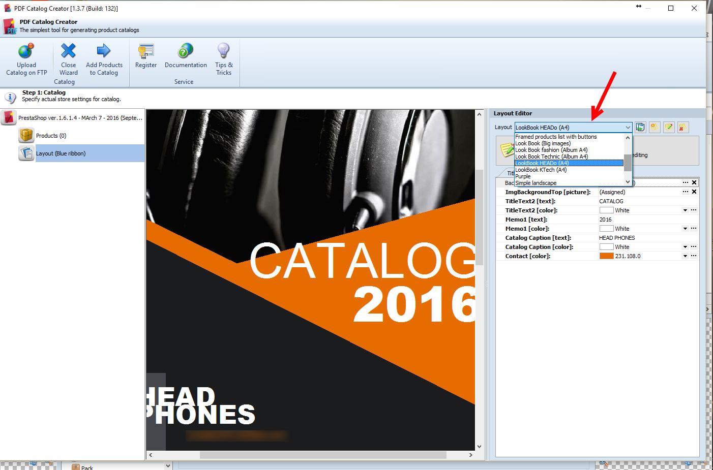 prestashop pdf catalog creator templates