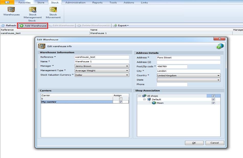 PrestaShop Inventory Management - Optimization with Store Manager