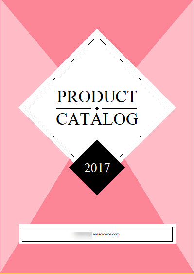 prestashop lookbook catalog pink