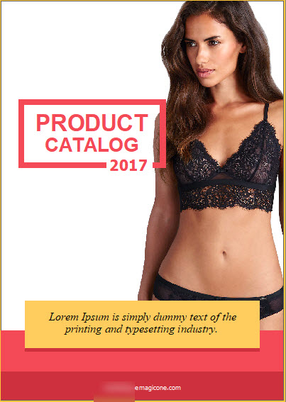 PrestaShop Lookbook Lingerie Layout