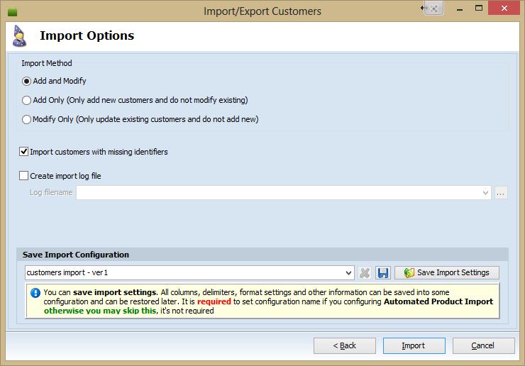Prestashop custimers Export via CSV by Store Manager for PrestaShop