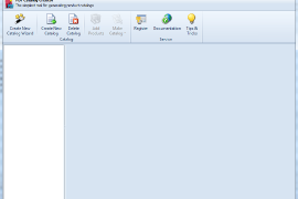 PrestaShop PDF Catalog Creator Main page