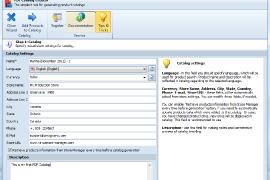 PrestaShop PDF Catalog Creator settings
