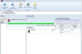PrestaShop PDF Catalog Creator Progress Bar