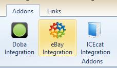 PrestaShop eBay Integration Addon Button