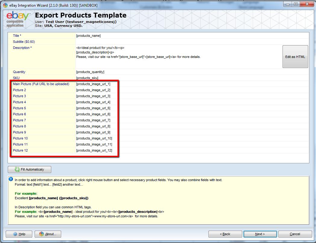 PrestaShop eBay Integration Addon