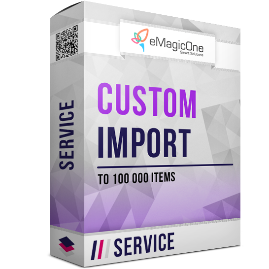 PrestaShop Import As a Service – Up to 100 000 items