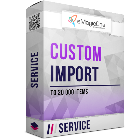 PrestaShop Import As a Service - Up to 20 000 items