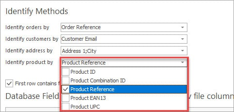 Set Product Identifier During PrestaShop Orders Import with eMagicOne